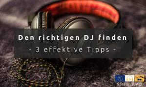 Den richtigen DJ finden