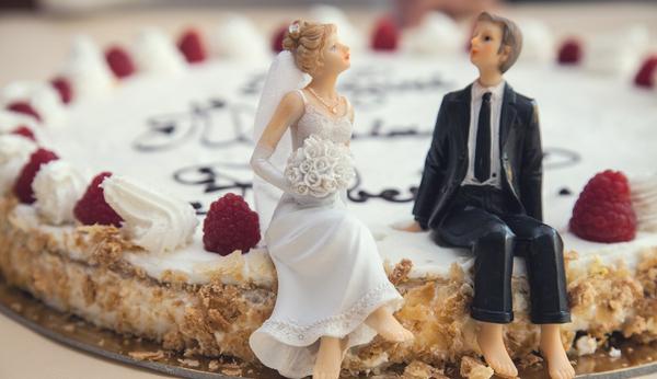 Zeitpunkt Hochzeitstorte